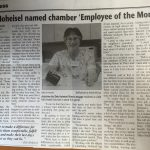 Deb Hoheisel Named Chamber 'Employee of the Month'